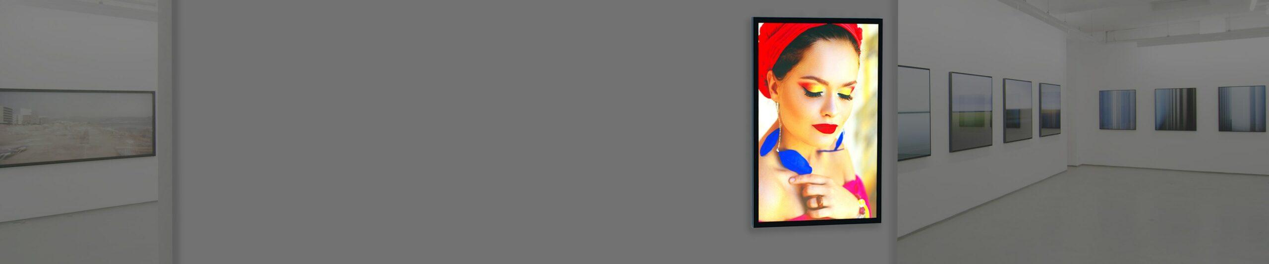 Large banner background image